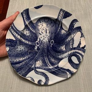 Anthropologie From The Deep Salad Plate